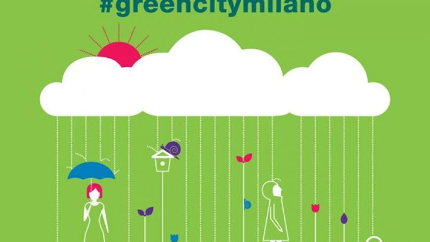 La pioggia non ferma Green City Milano